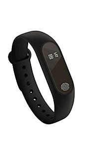צמיד חכםעמיד במים / המתנה ארוכה / מעקב אימון / בריאות / ספורטיבי / מוניטור קצב לב / Alarm Clock / מסך מגע / מרחק מעקב / עוקב שינה / ניתן