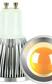 5W GU10 LED-spotpærer 1 COB 600 lm Varm hvit / Kjølig hvit Dimbar AC 220-240 / AC 110-130 V 2 stk.