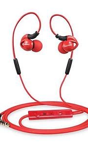 NUBWO NY5 Kanaal-oordopjes (in gehoorgang)ForMediaspeler/tablet / Mobiele telefoon / ComputerWithmet microfoon / Volume Controle / Sport