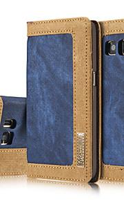 Per Samsung Galaxy S7 Edge Porta-carte di credito / A portafoglio / Con supporto / Con chiusura magnetica / A calamita Custodia Integrale