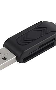 2 in 1 USB 3.0 SDHC SDXC Micro SD Card Reader SD/MicroSD/TF Trans-flash Card USB3.0 Adapter