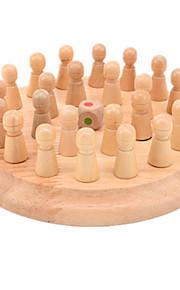 Samle & Vikl ud puslespil Kong Ming Lock Originalt legetøj Cirkelformet Træ Regnbue Kamel Til drenge Til piger5 til 7 år 8 til 13 år 14