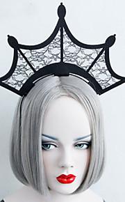 Headpiece Innoittamana Cosplay Cosplay Anime Cosplay-Tarvikkeet Headpiece Musta Teryleeni Uros / Naaras / Lapsi