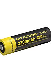 nitecore nl1823의 2300mah 3.7의 8.5wh 18650 리튬 이온 충전지