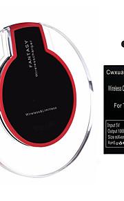 Tipo-c cwxuan® qi kit de carregamento receptor carregador sem fio wireless para o telefone móvel do tipo c