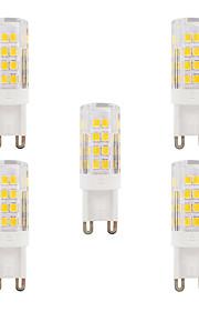 3W G9 LED-lamper med G-sokkel T 51 SMD 2835 280-300 lm Varm hvit Kjølig hvit Dimbar Vanntett AC 220-240 V 5 stk.