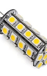 4W G4 2-pins LED-lampen TL 30 SMD 5050 360 lm Warm wit Koel wit Dimbaar Decoratief DC 12 V 1 stuks