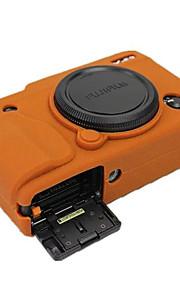 -Etui-Fujifilm-En-Skulder-Støv-sikker-Sort Kaffe Brun
