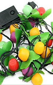 frukt sju lysene på juletreet dekorasjon meter lampe festlig bryllup scene lysekroner tilfeldig farge