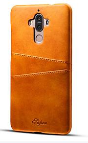 Per Porta-carte di credito / Resistente agli urti Custodia Custodia posteriore Custodia Tinta unita Resistente Similpelle per Huawei