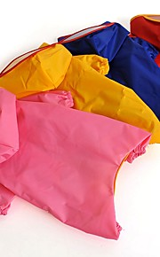 katten / honden Regenjas Rood / Geel / Blauw / Roze Hondenkleding Winter / Zomer / Lente/Herfst Effen Waterdicht