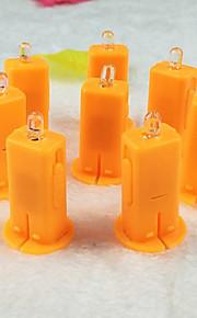 2stk spesiell elektronisk papir lanterne tenner et stearinlys ledet lykt veke