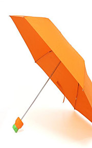 Umbrella/Sun Umbrella for Kid's Travel Storage Net Fabric-Orange Yellow Red