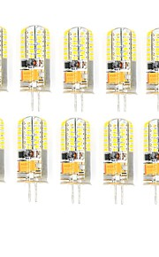 10 Pcs Trådbunden Others G4 48 led Smd 2835 3W AC DC12v 850 lm Warm White Cold White Double Pin Waterproof Lamp Övrigt