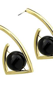 Øreringe Dråbeøreringe Smykker Dame Halloween Legering 1 par Gul Guld