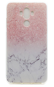 For Huawei P9 Plus P9 Lite P9 P8 Lite Y5 II Honor V8 Honor 8 Y600 Nova Mate 9 TPU Material Marble Pattern Painted Relief Phone Case