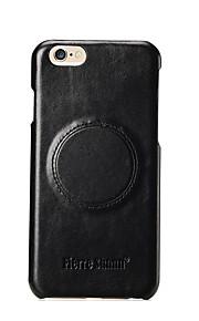 Für Stoßresistent Hülle Rückseitenabdeckung Hülle Einheitliche Farbe Hart Echtes Leder für AppleiPhone 7 plus / iPhone 7 / iPhone 6s