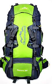 80 L Paquetes de Mochilas de Camping Ciclismo Mochila mochila Acampada y Senderismo Escalar Deportes de ocio CiclismoAl Aire Libre
