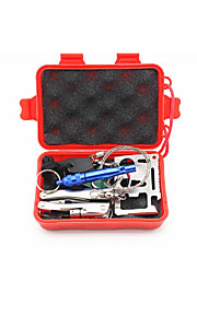 NEJE SOS Survival Tools First Aid Kits Survival Kit Emergency SOS Survive Tool Pack for Camping Hiking Hunting Biking Climbing Traveling and Emergency