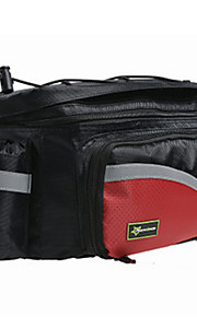 Bolsa para BicicletaBolsa Maletero/Bolsa LateralImpermeable Cremallera a prueba de agua A Prueba de Golpes Listo para vestir Pantalla