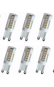 4W E14 / G9 / G4 LED Bi-pin Lights T 33LED SMD 2835 300-350LM   Warm White / Cool White Decorative AC110 / AC220 V 10 pcs