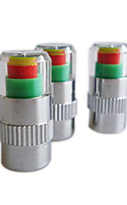 2.2 Digital Tire Pressure Realtime Warning Air Valve Indicators (2-Pack)