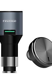 Fineblue F-458 I Øret-Hovedtelefoner (I Ørekanalen)ForMedieafspiller/Tablet Mobiltelefon ComputerWithMed Mikrofon DJ Lydstyrke Kontrol