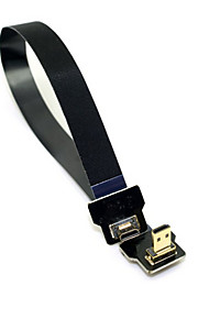 Cy® HDMI Micro-HDMI Micro vergoldet Kabel 1080P 0.2m (0.65Ft)