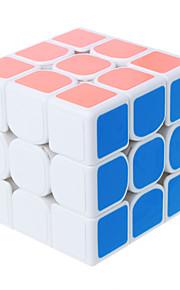 Shengshou® Let Glidende Speedcube 3*3*3 Originale Magiske terninger Sort Fade Ivory Brun Orange Guld glat StickerAnti-pop Justerbar