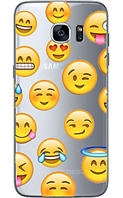 For Samsung Galaxy S6 Edge Plus S6 S7 Edge S7 Lovely expression package Soft Material For Compatibility TPU