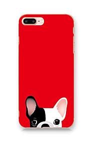Pour IMD Motif Coque Coque Arrière Coque Dessin Animé Dur Polycarbonate pour AppleiPhone 7 Plus iPhone 7 iPhone 6s Plus/6 Plus iPhone