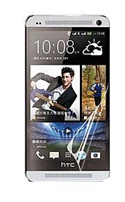 Ekran HD obrońcą z pochłaniacza pyłu dla HTC One / M7 (5 szt)