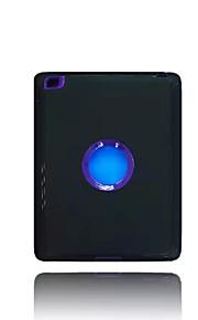 Per Acqua / Dirt / Shock Proof Con supporto Custodia Custodia posteriore Custodia Tinta unita Resistente PC per Apple iPad 4/3/2