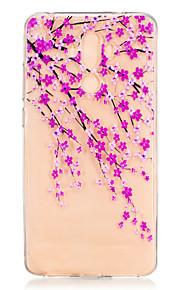 Voor Patroon hoesje Achterkantje hoesje Bloem Zacht TPU voor Huawei Huawei Honor 8 Huawei Honor 5C Huawei Mate 9