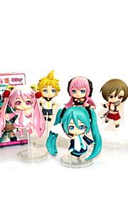 Vocaloid Hatsune Miku PVC 9.5 Anime Action Figures Model Toys Doll Toy (7PCS)
