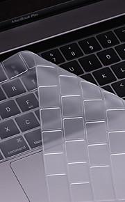 beiyo Tastaturschutz (TPU) für macbook air13pro 13 15macbook 12 ultradünnem Transparenz wasserdicht staubdicht