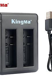 Kingma bm037 carregador de bateria dual-slot para Xiaomi xiaoyi ea bateria az16-1 --black