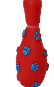 Cat Toy Dog Toy Pet Toys Chew Toy Elastic Rubber Red Blue Pink