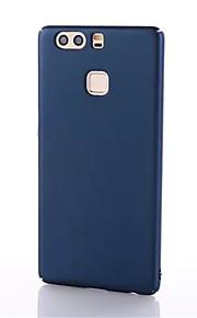 ל אולטרה דק מגן כיסוי אחורי מגן צבע אחיד קשיח PC ל Huawei Huawei P9 Huawei P9 לייט Huawei P9 Plus Huawei Honor 8 Huawei Mate 9