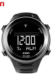 Ezon l002a01 en plein air le temps du monde de la montre de sport de course multifonctionnel imperméable à l'eau