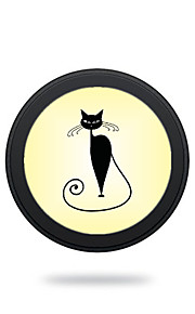 Universal  Lovely Cat  Wireless Charging Pad Mobile Wireless Power Charger for Galaxy S6 S6 EDGE  S7 S7 EDGE NOTE5 Samsung HTC LG Nexus Nokia