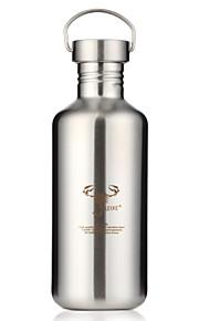 nieuwigheid sport to-go outdoor drinkware, 1200 ml draagbare lekvrije RVS sap water nieuwigheid drinkware tumbler