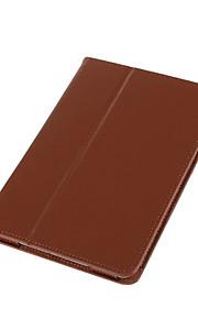 För med stativ fodral Heltäckande fodral Enfärgat Hårt PU-läder för Apple iPad Mini 4 iPad Mini 3/2/1