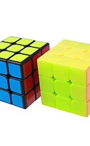 Yongjun® Let Glidende Speedcube 3*3*3 Hastighed Professionelt niveau Magiske terninger glat Sticker Guanlong Anti-pop Justerbar fjeder ABS
