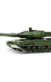 Véhicule Militaire Jouets Jouets de voiture 1:48 Métal ABS Plastique Vert Maquette & Jeu de Construction