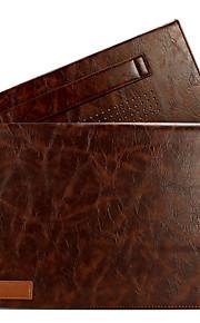 för macbook air pro 11,3 12 13,3 läder fallet täcker med konsol 15 grader stent laptopväska ärmar