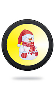 Portable Cute White Snowman 5V 2A Wireless Charging Pad/Stand for All QI-Enabled Devices Samsung Galaxy S7  S7 Edge S6   S6 EdgeGoogle Nexus 4  5
