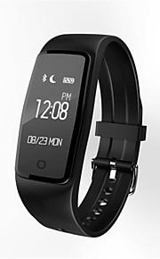 IP67 resistente al agua dinámica pantalla táctil de control del ritmo cardiaco del sueño paso bluetooth portátil recordatorio de pulsera