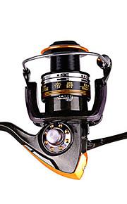 リール スピニングリール 2.6:1 13 ボールベアリング 交換可能 一般的な釣り-DA3000