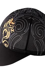 帽子 バイク 高通気性 速乾性 防風 絶縁 バクテリア対応 低摩擦 モイスチャーコントロール ソフト サンスクリーン 女性用 男性用 男女兼用 ブラック テリレン